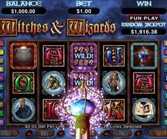 free slots machine online wizards win