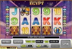 Last King Of Egypt Slots